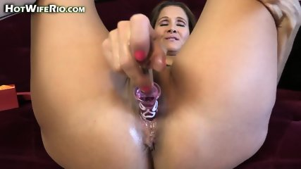 Hot Mom Plays With Dildo - scene 9