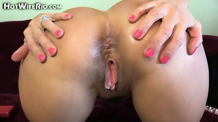 Hot Mom Plays With Dildo - scene 12