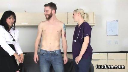 Teens ride fellows anus with big belt cocks and blast jizm