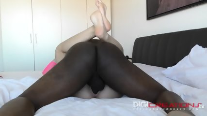 Romanian Teen Creampied By Black Cock - scene 7
