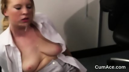 Wicked model gets cumshot on her face gulping all the sperm