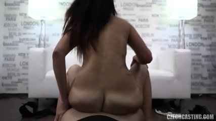 Nice Girl Rides Cock At Casting - scene 10