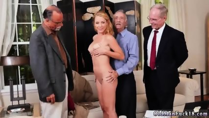Old young anal gangbang Frannkie And The Gang Tag Team A Door To Door Saleswoman