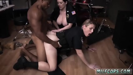 Milf intense squirt and handjob milking Raw movie grasps cop boinking a deadbeat dad.