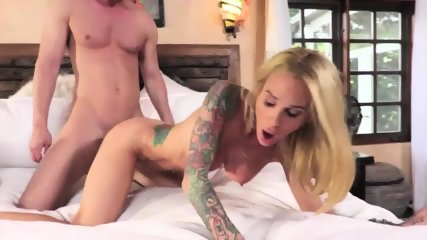 Tattooed Babe Caught On Sex - scene 10