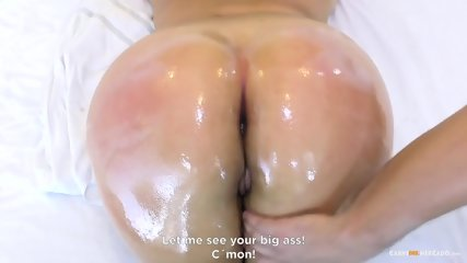 Big Ass Oiled Up And Pussy Fucked - scene 6