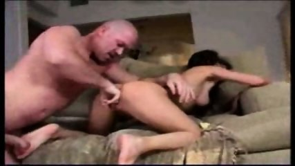 Slowmo Squirt with ugly Baldy Man - scene 7