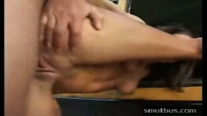 Sucking and fucking the bus driver - scene 3