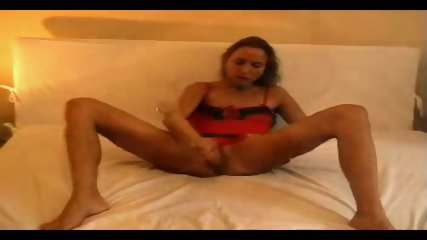 Wife masturbates and gets fucked - scene 7