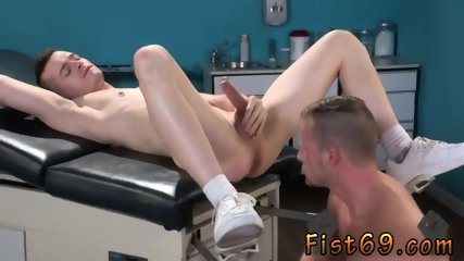 Hot hunk fisting and first total anal gay Axel Abysse gets naked and raises his gams up