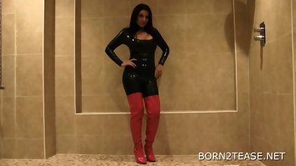 Latex Catsuit - scene 1