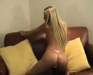 Blond Hooker stripping - scene 12
