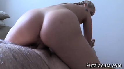 Nice Blonde Swallows Load - scene 8