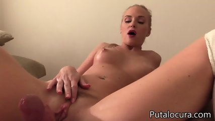Nice Blonde Swallows Load - scene 4