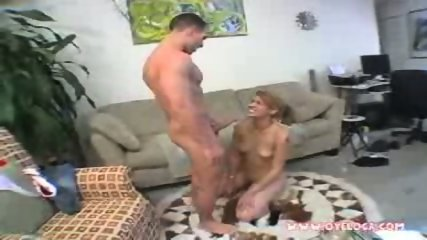 Amazing latina babe Cherrie deep throats a long cock - scene 6