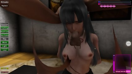 Uncensored Hentai 3D Illusion PlayHome part 3 - scene 3