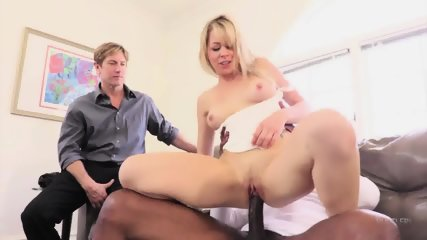 Interracial Adventure While Husband Watches