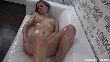 Oiled Body Of Sexy Amateur