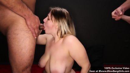 Big Tit Teen Takes 8 Facials - scene 5