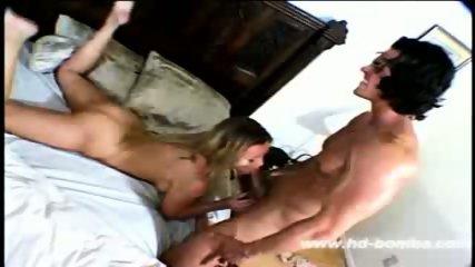Nina Ferrari fucked and facialised - scene 3