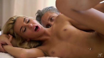 Sexy Blonde With Sperm In Pussy - scene 9
