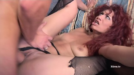 Anal Pleasure For Naughty Redhead - scene 6