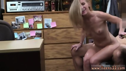 Amateur huge boobs blowjob Blonde bimbo attempts to sell car, sells herself