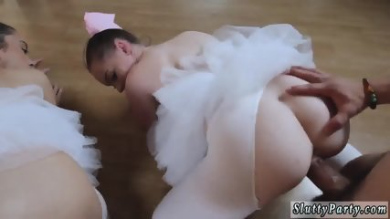 Hot blonde big tits ass college first time Ballerinas