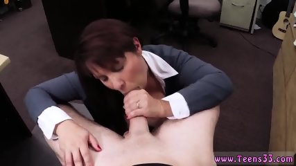 Hd close blowjob and pale amateur xxx MILF sells her husband s stuff for bail $$$