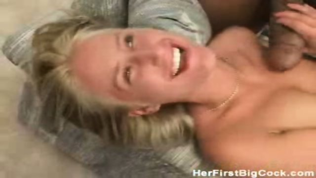 Tight slut gets rammed by 2 fat cocks