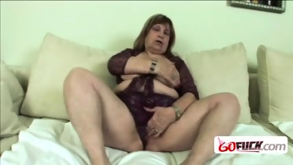Busty babe making big dick disappear