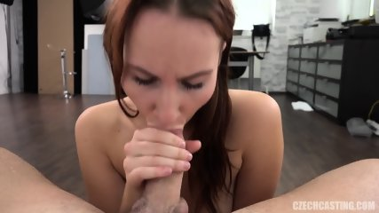Amateur European Girl Takes Cock