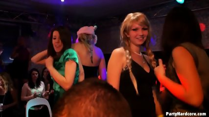 Horny Girls At Sex Party