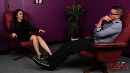 Elegant Lady Watches Masturbation - scene 3