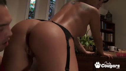 Perfect body asian Asa Akira fucking a huge cock