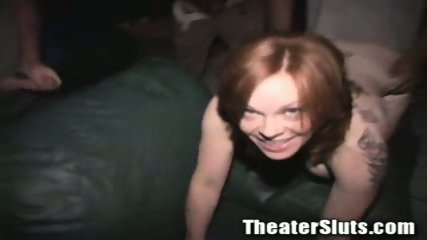 Kayce in theater fuck - scene 10