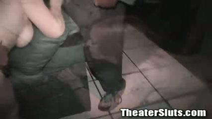 Kayce in theater fuck - scene 12