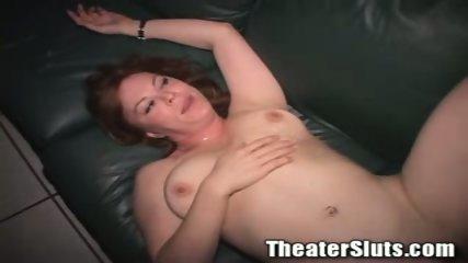 Kayce in theater fuck - scene 1