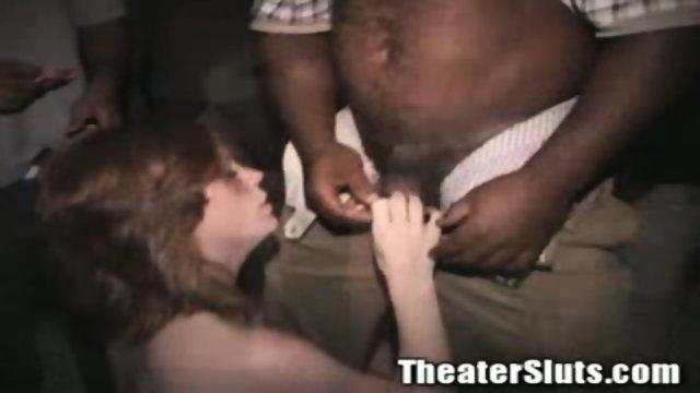 Kayce in theater fuck
