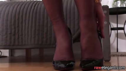 Elegant euro beauty assfucked by black dong