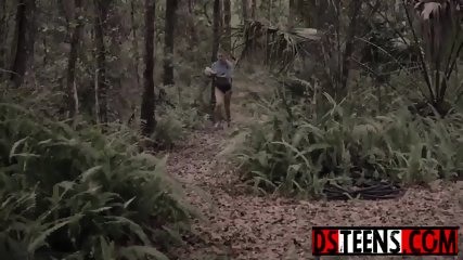 Scared teen Marsha May runs from creep to find someone worse