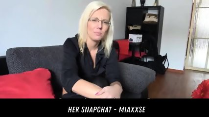 Blonde Wife Cheating Her Husband HER SNAPCHAT - MIAXXSE