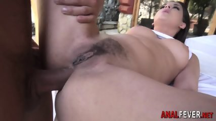 Hos round ass gets fucked