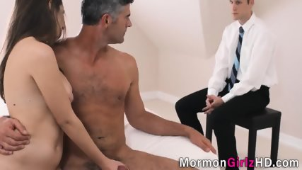 Teen gets nailed by elder