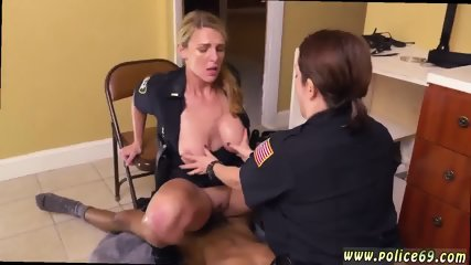 French maid uniform first time Black Male squatting in home gets our milf officers