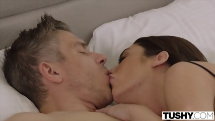 TUSHY Hot Wife Loves DP With Her Husband And His Best Friend - scene 2