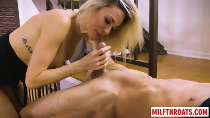 Big tits milf tittyfuck with facial