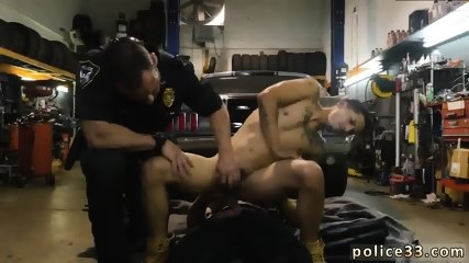 Hot nude gay sex video Get pounded by the police