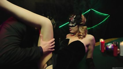 Masked Stripper Serves Customer - scene 2