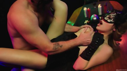 Masked Stripper Serves Customer - scene 4